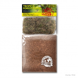 Tropical Forest Floor (Green Moss 2,2L & Coconut Husk Fiber 6,6L)