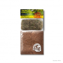 Tropical Forest Floor (Green Moss 1,1L & Coconut Husk Fiber 3,3L)