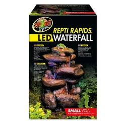 Repti Rapids LED Waterfall small Rock Style 18x14x28 cm (LxBxH)