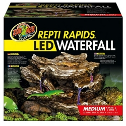 Repti Rapids LED Waterfall medium Rock Style 33x20x25 cm (LxBxH)