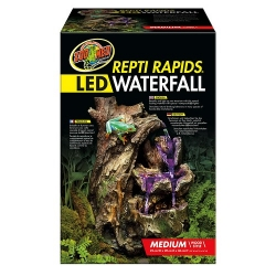 Repti Rapids LED Waterfall medium Wood Style 25x20x36 cm (LxBxH)