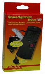 Thermo-Hygrometer Deluxe PRO Min-Max, mit Kombi-Fernfühler