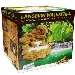 Langevin Waterfall (mit Pumpe)