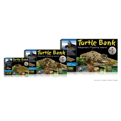 Turtle Bank large magnetische schwimmende Insel